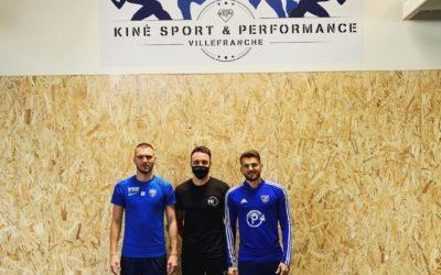 Deux joueurs de National 1 au Centre Kiné & Sport Performance
